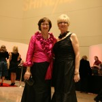 SHINE* A Royal Affair 2009 co-chairs Jan Michaletz '74 and Susan Wilcox '73. (Photo by Stacia Vogel)