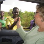 Bernadette Galvin '57 sharing friendship, love, and diversity in South Sudan.