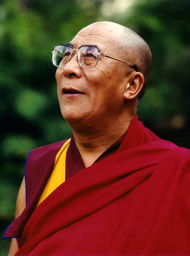 His Holiness, the Dalai Lama.