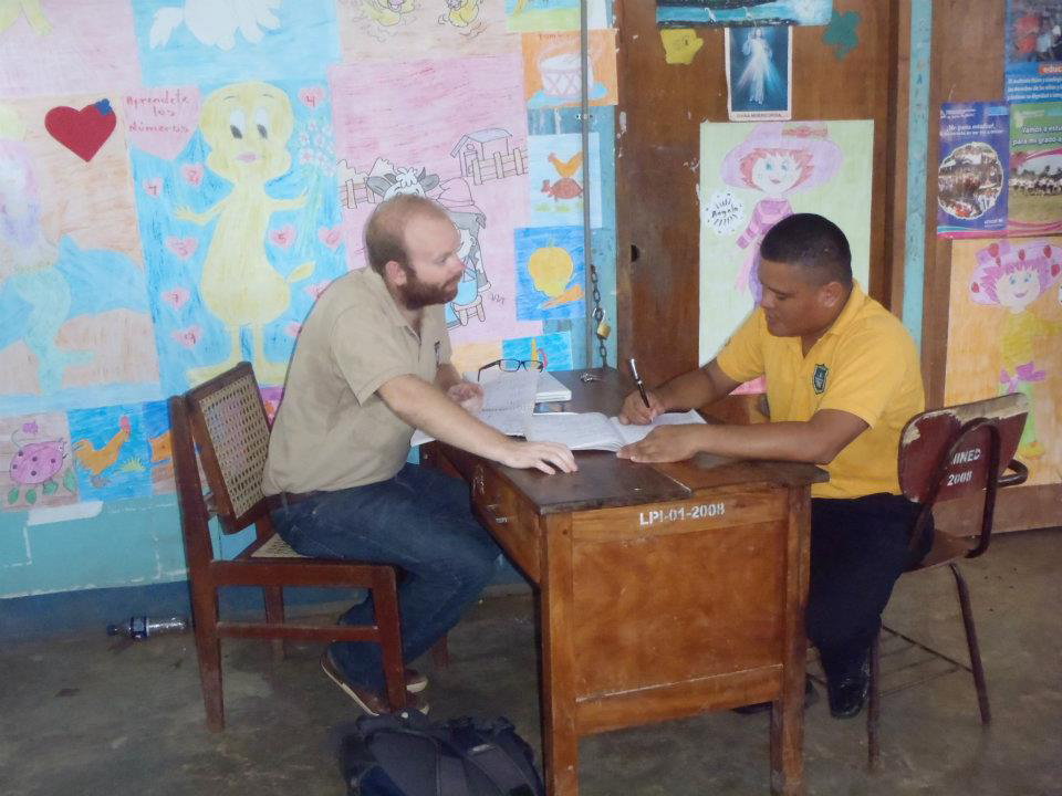 Matt Wood '10 has spent the last two years in Nicaragua while serving in the Peace Corps.
