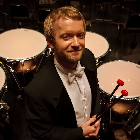 Jason Haaheim is the Principal Timpanist of the Metropolitan Opera Orchestra in New York (Photo by Justin Haaheim '06).