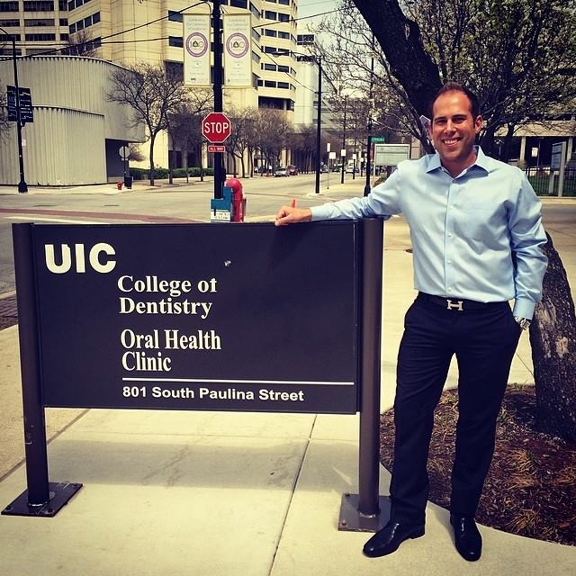 Kyle Hunt '10 attended dental school at the University of Illinois at Chicago.